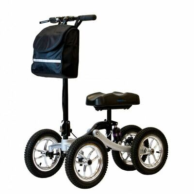 Knee Scooter Quad 4 Pro All Terrain   Crutches alternative   Foldable