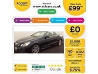Mercedes-Benz E220 FROM £99 PER WEEK!