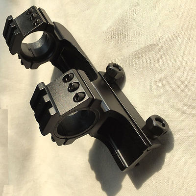 25mm 30mm Double Scope Rings Dual Ring Cantilever Mount 20mm Tactical Rail Mount