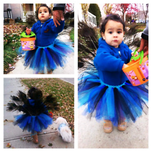 Homemade peacock 18months/2T costume