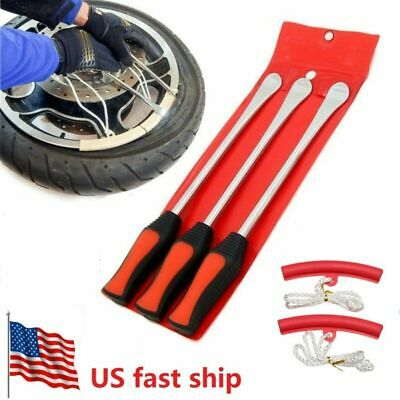 5Pack Tire Lever Tool Spoon Motorcycle Tire Change Kit Bicycle Dirt Bike -