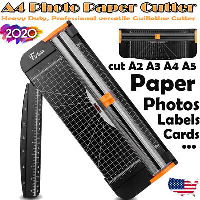 A4 Photo Paper Cutter Guillotine Card Trimmer Ruler Office Art Heavy Duty