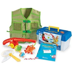 New - Learning Resources ~ Pretend & Play Fishing Set