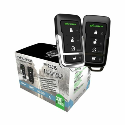Excalibur RS-375 - 3,000 feet 4-button 1-way Start & Keyless Entry System