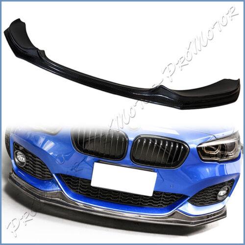 Carbon Fiber P Rear Bumper Side Extensions for BMW F20 F21 LCI 1-Series M Sport
