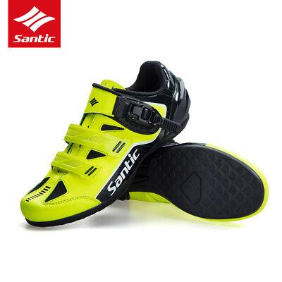- SANTIC Men Non-Slip No-Lock Cycling Walking Shoes Sneaker MTB Road Bike Shoes