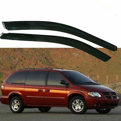 Fit For Dodge Caravan 1996-2007 Rain Guard Window Visor Deflector Shade Sun