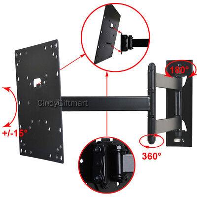 """Tilt Swivel TV Monitor Wall Mount for Samsung Vizio 28""""-42"""" LED LCD E40-D0 3KB"""