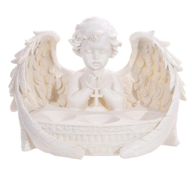 Cherub Angel Wings 3 Tea Light T Light Holder Candle Home Decoration Gift CHE55