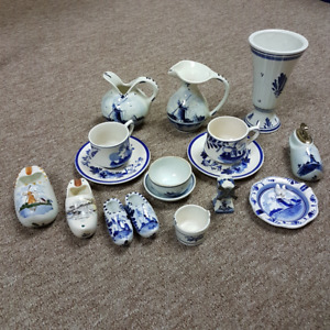 Vintage/Collectable Dutch Delft Blue from Holland.