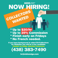 Collectors Wanted