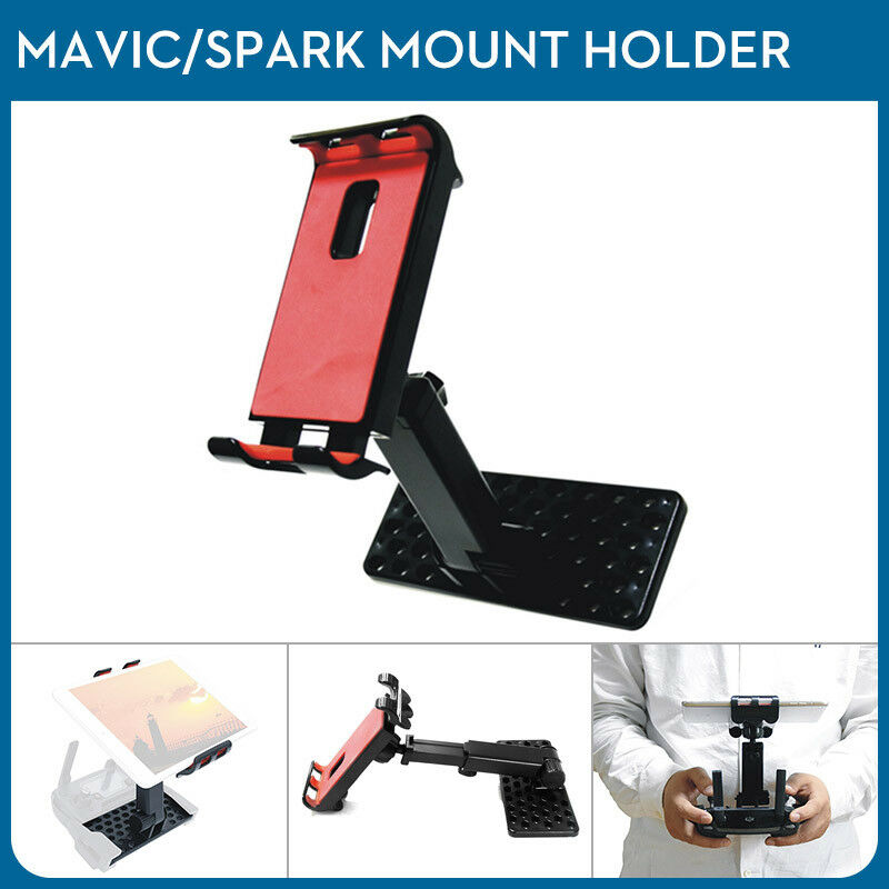 "4""-12"" Flexible Tablet Mount Phone Bracket For DJI Spark Mavic 2 Pro Air Remote"