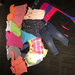Vêtements filles 18 mois