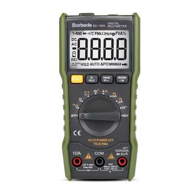 Bd-168a Lcd Digital Multimeter Voltage Resistance Current Multitester Measuring