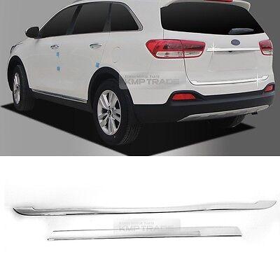 Chrome Rear Trunk Lid Garnish Molding Trim Cover for KIA 2015-2018 Sorento UM