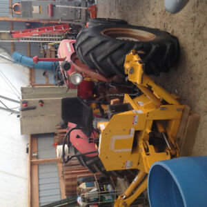 3 PH mounted Backhoe