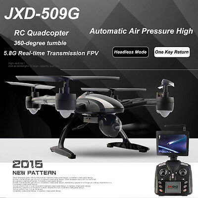 JXD 509G / 509W 6-Axis Gyro RC Drone Quadcopter RTF UAV UFO With  FPV HD Camera