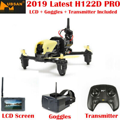 Hubsan H122D Pro X4 FPV Quadcopter 720P RC Storm Racing Drone+Goggles+ LCD RTF