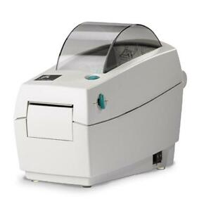 Zebra LP 2824 Plus Direct Thermal Desktop Label Printer, White (MRSP $505.71)