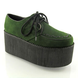 Green High Shoes