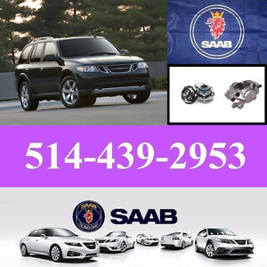 Saab 9-7 ■ Bearings, Calipers ► Roulements, Étriers