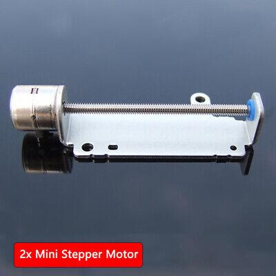 2pcs Micro Small Stepper Motor Mini Linear Screw Slider 2-phase 4-wire Us Stock