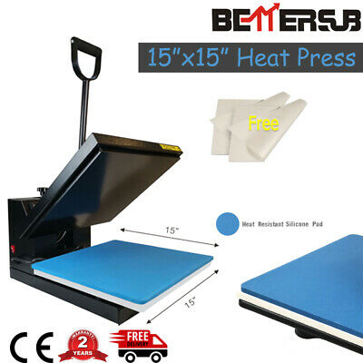 Bettersub Clamshell 15x15 Heat Press Machine Sublimation Transfer T-shirts Us