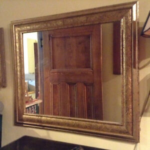 antique Wall mirror 3'x2'