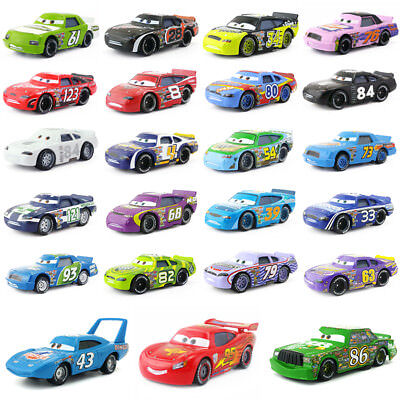 Disney Pixar Cars Racers No.4-No.123 1:55 Loose Model Toy Car Gift For Kids - Disney Toy Cars