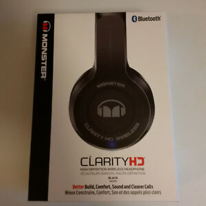 Monster ClarityHD On-Ear Bluetooth Headphones
