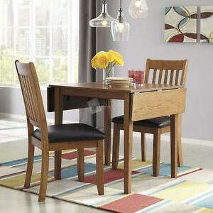 Ashley Furniture Dining Sets; Recession Prices! 3 Piece Dinette Set - Great for small spaces!