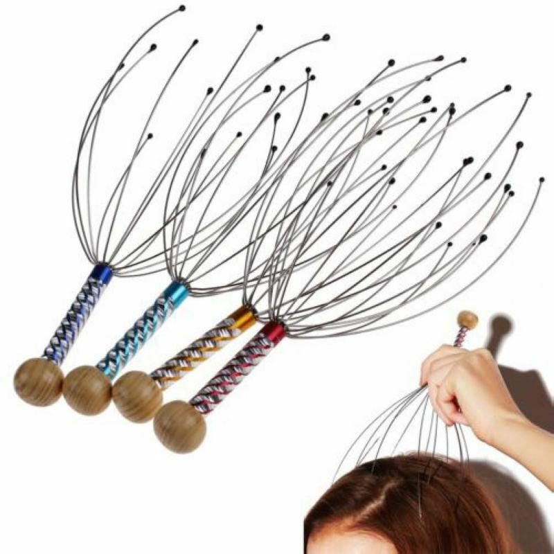 2x Kopfhaut Massagegerät Therapeutic Head Kratzer Scratch Relaxation Dekompress,