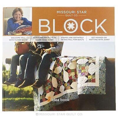 Quilt Magazine   Block   Fall 2016 Vol 3 Issue 5   Missouri Star Quilt Co