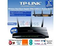 TPLINK W9980 High Speed ADSL 2 and Fibre Router with N600 wifi and USB 2