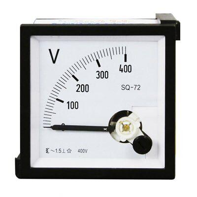 1pc 0-450v Analog Panel Voltage Meter Voltmeter Gauge Sq-72 Ac Class 1.5