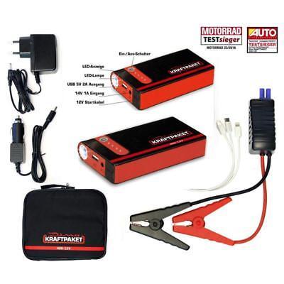 Auto Kraftpaket 400A 12V LKW 24V Mobile Batterie Starthilfe Gerät Schnellstart Mobile Batterie Pack