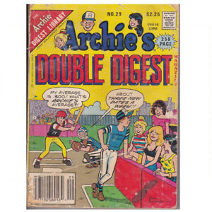 1987 ARCHIE'S DOUBLE DIGEST COMIC BOOK MAGAZINE NO. 29