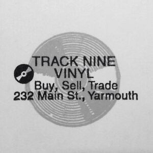 Track Nine Vinyl: Used Vinyl Records in Downtown Yarmouth.