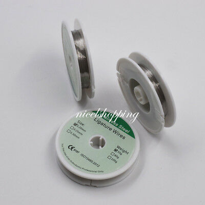 Dental Orthodontic Ligature Wires Stainless Steel Wire 50g 0.20.250.3mm Roll
