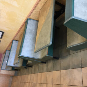 Restaurant seating and various other restaurant peices