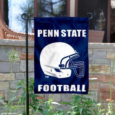 Penn State Football Helmet Garden Flag Yard Banner