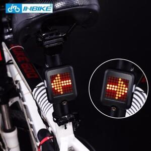 INBIKE Bicycle Light Automatic Dirction Indicator Taillight USB Charging