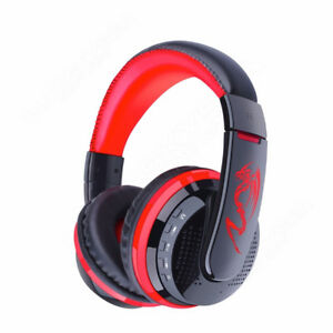 Stereo Bluetooth Cordless Headphones Over-Ear Gaming Headset Fr