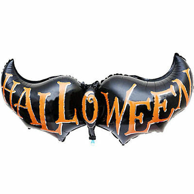 Halloween Party bat long Cartoon letter Halloween foil balloons 32