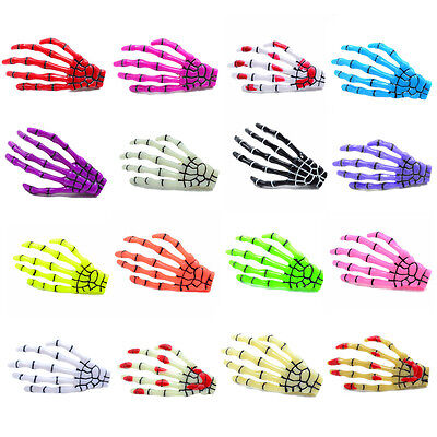New Fashion Paw Luminous Skeleton Ghost Hand Halloween Hair Clips Hairpin 2 - Halloween Skeleton Hair