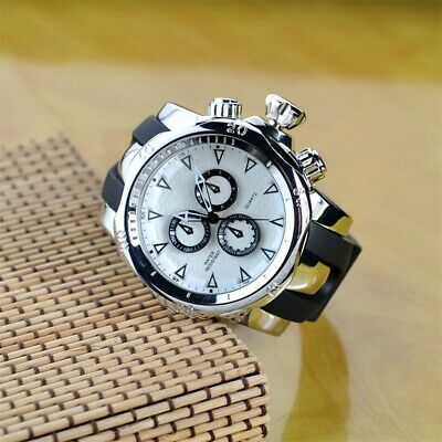 NEW Invicta STYLE Large Dial Luxury Mens Quartz Stainless Watch
