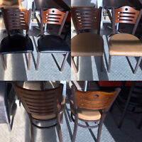 Restaurant Wood Back Chairs For Sale!!