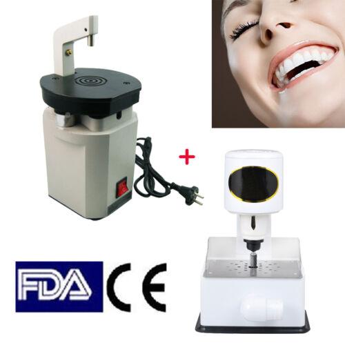Laser Pindex Drill Pin System + Grind Inner Arch Trimmer Machine for dental lab