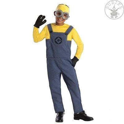 RUB 3886973 Minion Dave Kostüm Kinder Mütze Brille Handschuhe - Minion Brille Kostüm