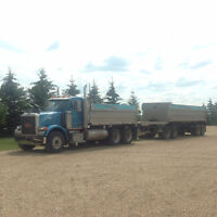 Oilfield and Gravel Truck Services